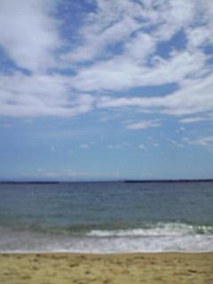 須磨の海とダンスと立ち回りの稽古