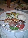 雨桜とトルコ料理?晳